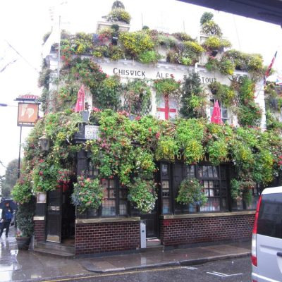 The Churchill Arms Pub, London
